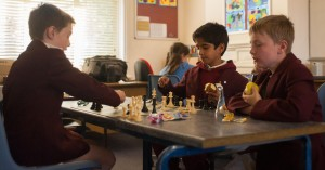 Chess is engaging!
