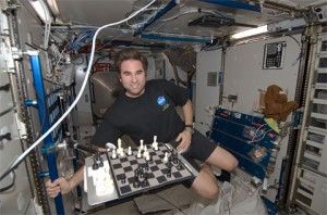 Chess in space!