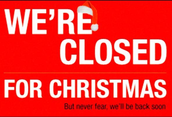Closed For Christmas.Closed For Christmas Chess For Schools